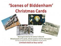 Christmas card poster landscape